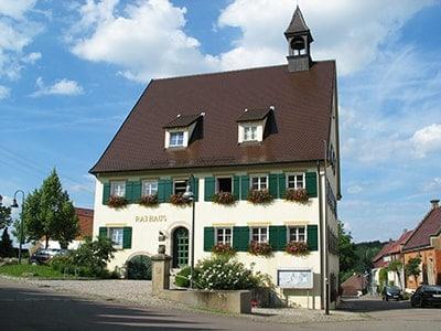Rathaus der Gemeinde Rainau